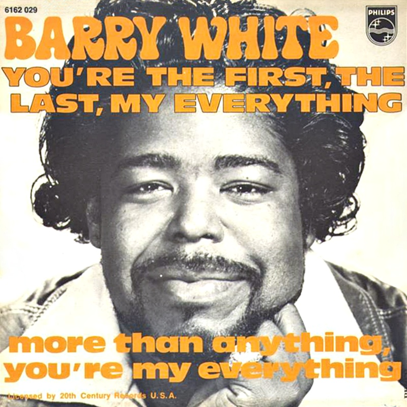 Barry White – My First My Last My Everything